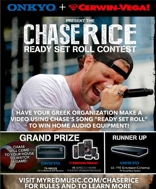Chase Rice Onkyo
